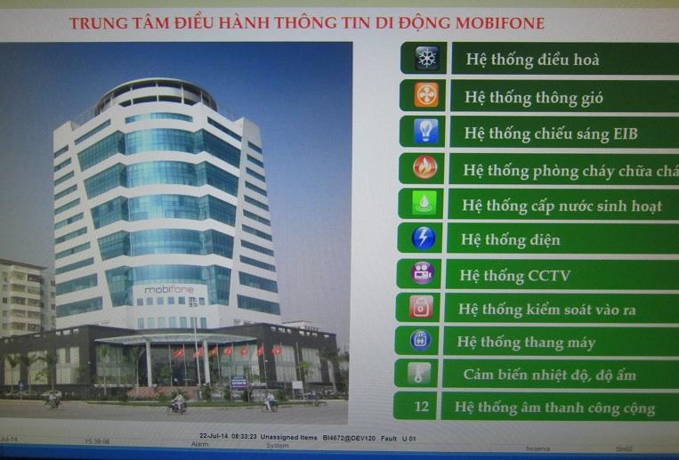 Giải pháp tiết kiệm điện của tòa nhà Mobifone -Hệ thống iBMS