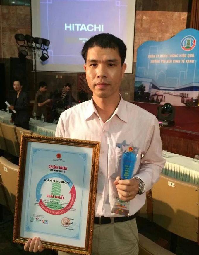 Mobifone nhận giải Nhất cuộc thi Quản lý năng lượng trong công nghiệp và tòa nhà 2013